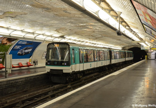 Metro Paris, MF88 06, Jaures