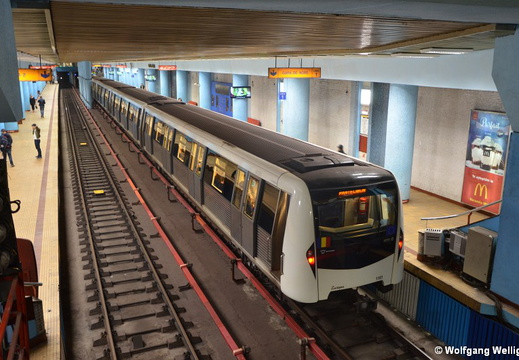 Bucharest Metro, 1101, Obor