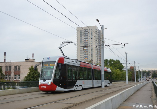 Saint Petersburg Tram, 8902, Трамвайный проспект (Tramvaynyi prospekt)