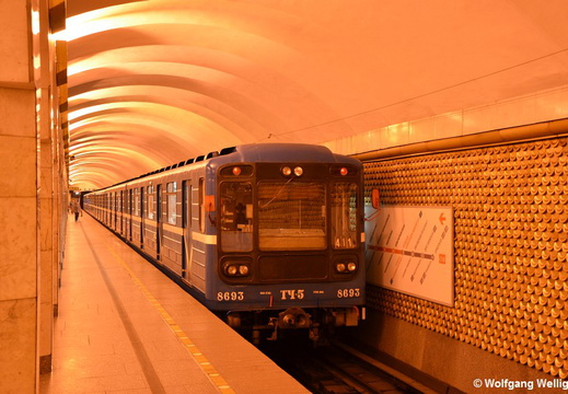 Saint Petersburg Metro, 8693, Александра Невского-2 (Ploshchad Aleksandra Nevskogo 2)