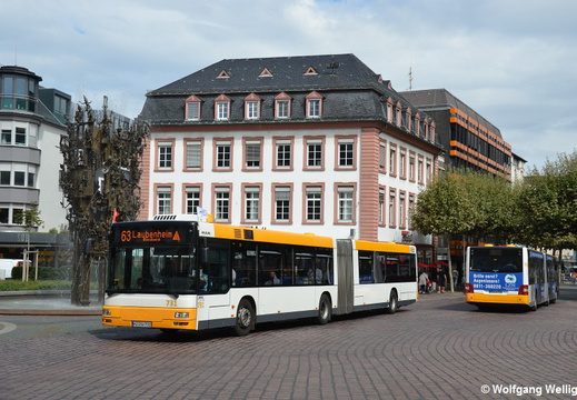 Bus Mainz, 731, Schillerplatz