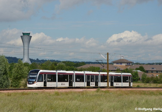 Edinburgh Tram 269, Ingliston Park And Ride