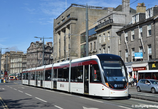 Edinburgh Tram 272, Princes Street