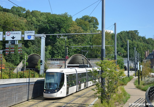 Tram Le Havre, 015, Rond-Point