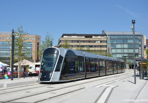 Tram Luxembourg, 106, Theater