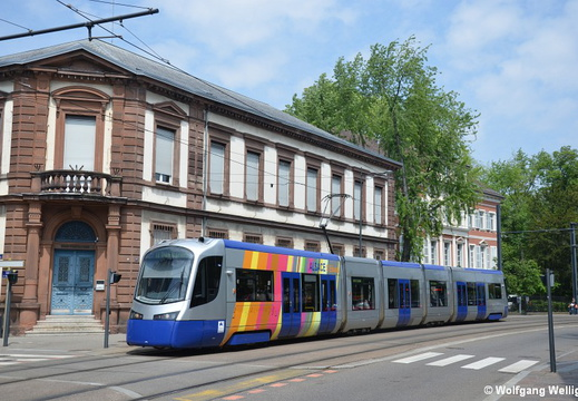 Tram-Train Mulhouse, TT20, Porte Haute