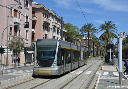 Tram Messina, 05, San Martino Trieste