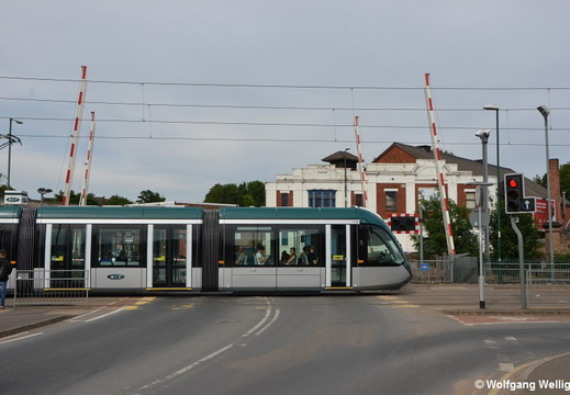 Nottingham Tram, 233, David Lane