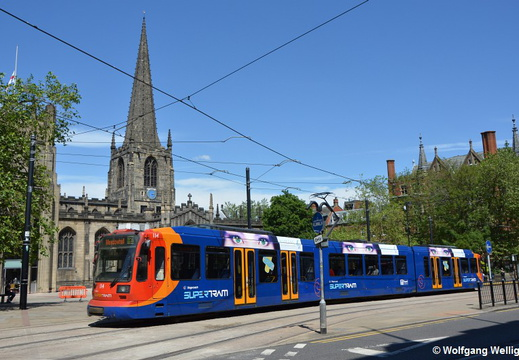 Sheffield Supertram, 114, Cathedral