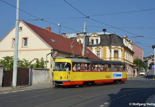 Tram Most, 254, Poliklinika