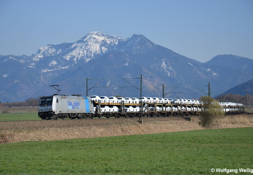 Railpool 185 690, Bernau am Chiemsee
