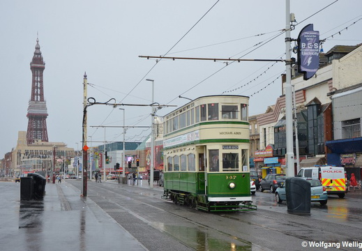 Tram Blackpool, 147, Manchester Square