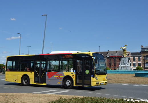 Charleroi Bus 7361, Waterloo
