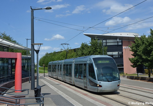 Tramway Valenciennes, 20, Université