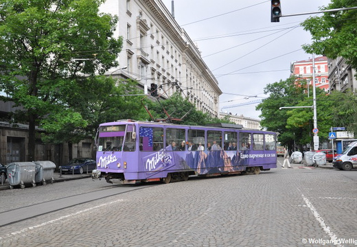 Tram Sofia, 4101, Nationalna Opera