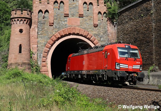 DB 193 333, Loreleytunnel